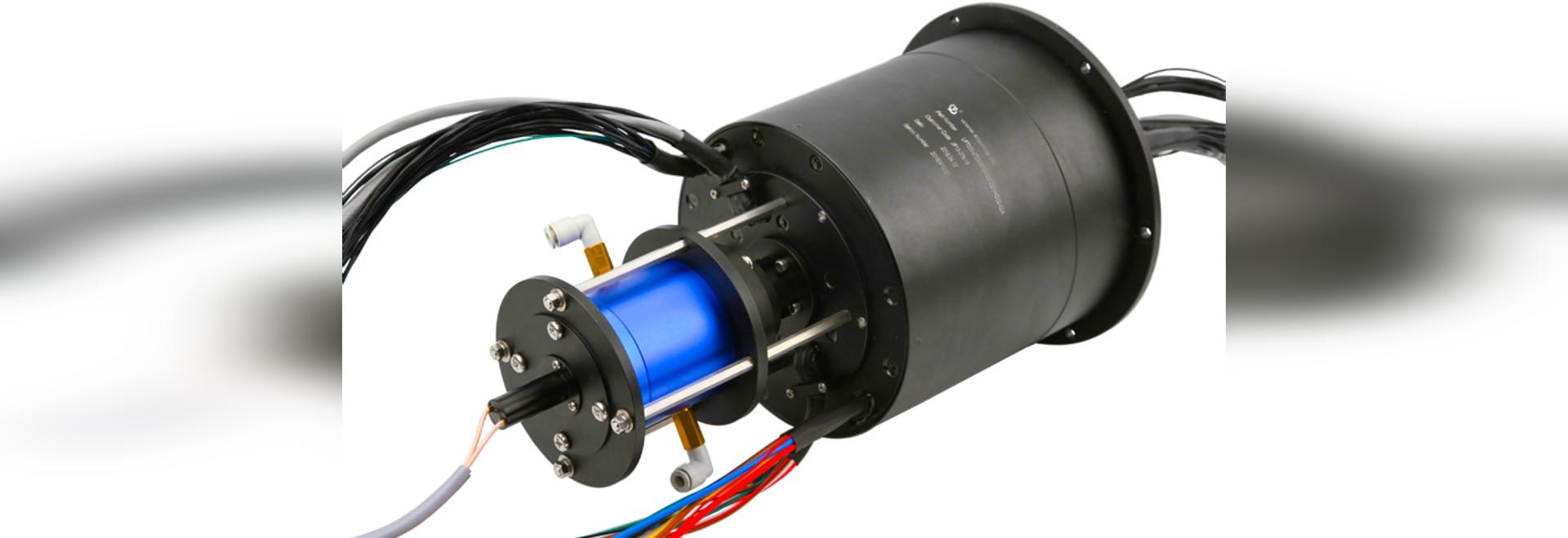 Junta rotatoria integrada hidráulica y eléctrica neumática