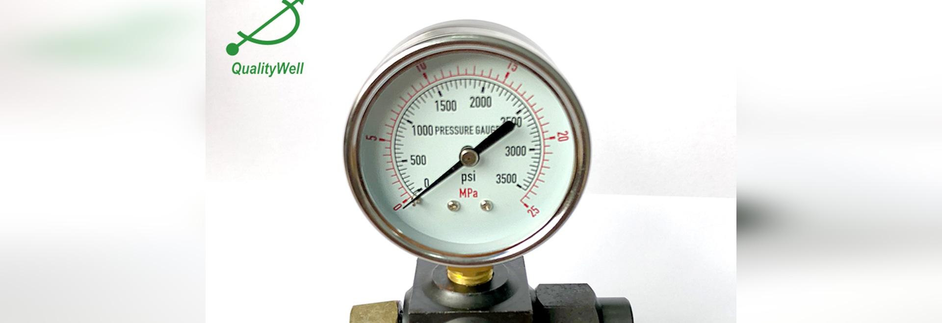 Mantenimiento del manómetro