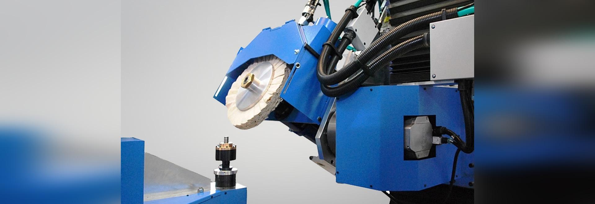 Máquina automática para el tratamiento superficial del acero inoxidable