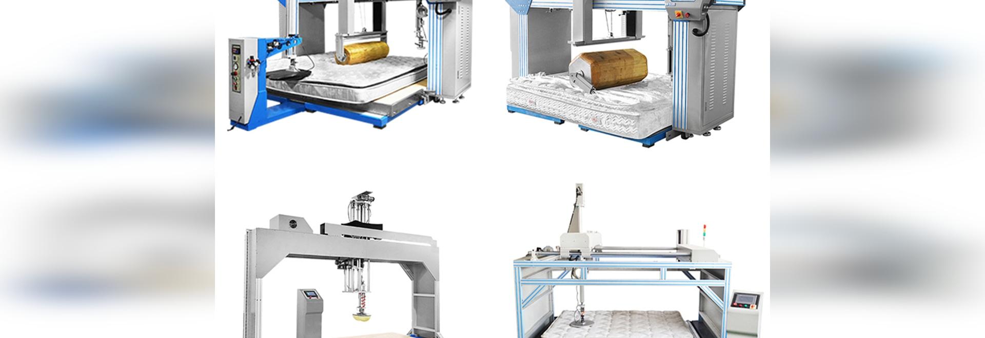 Máquina de ensayo de fatiga para colchones Rollator