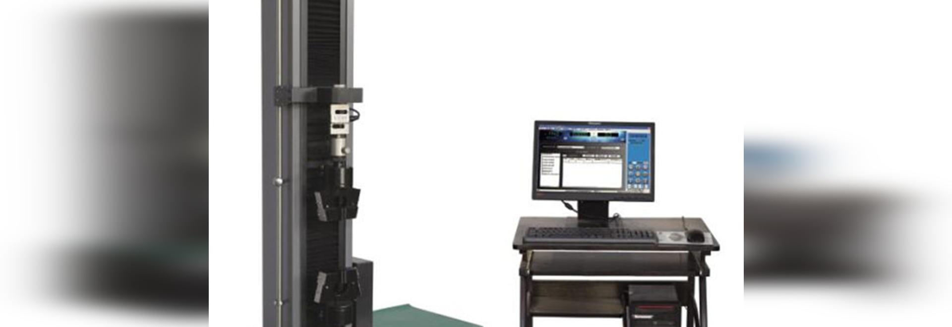 Máquina de prueba extensible electrónica de la sola columna