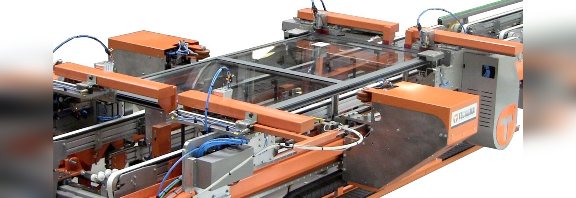 Máquina que enmarca automatizada para los marcos de ventana - TECAUMA