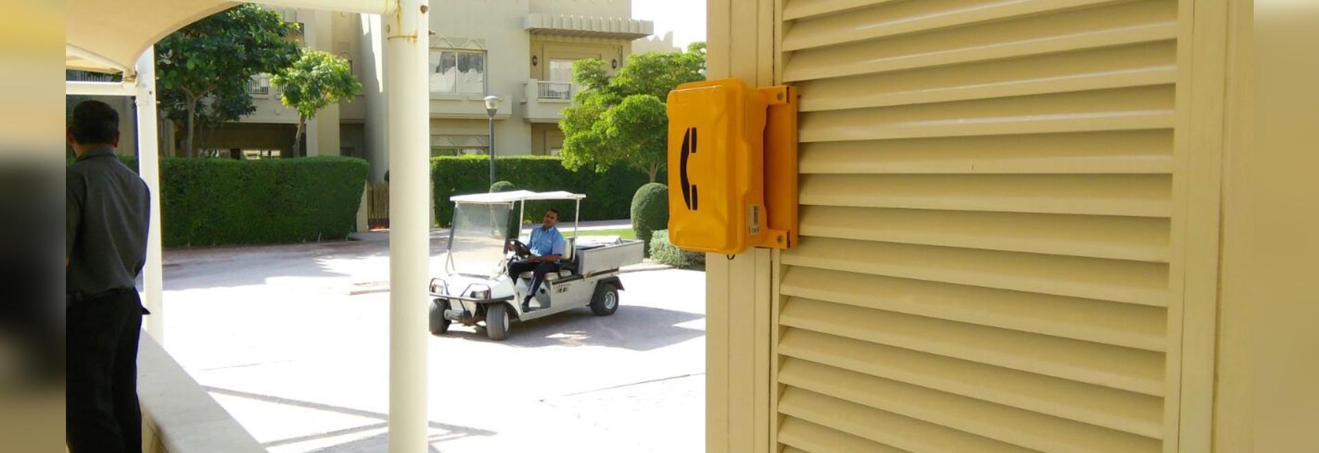 ¡Más fácil consiga la ayuda en el hotel de Marriott de Qatar cuando emergencia ahora!