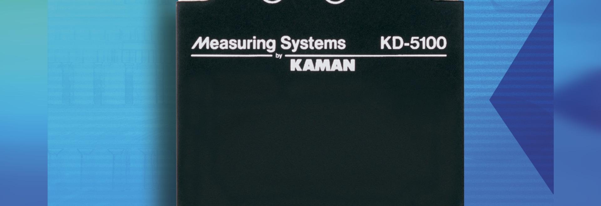 La medición de Kaman anuncia el sistema de medida diferenciado KD-5100