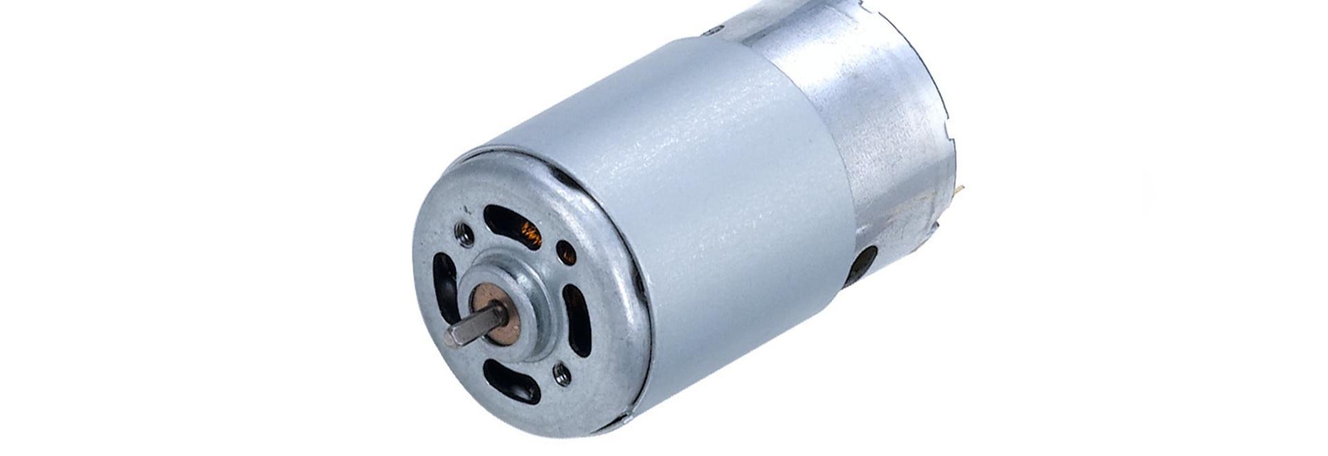 motor de poco ruido DC del motor micro de φ28MM para el aparato electrodoméstico