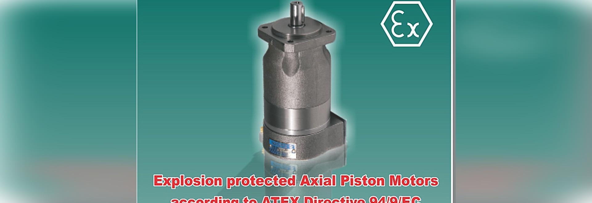 Motores axiales hidráulicos del pistón