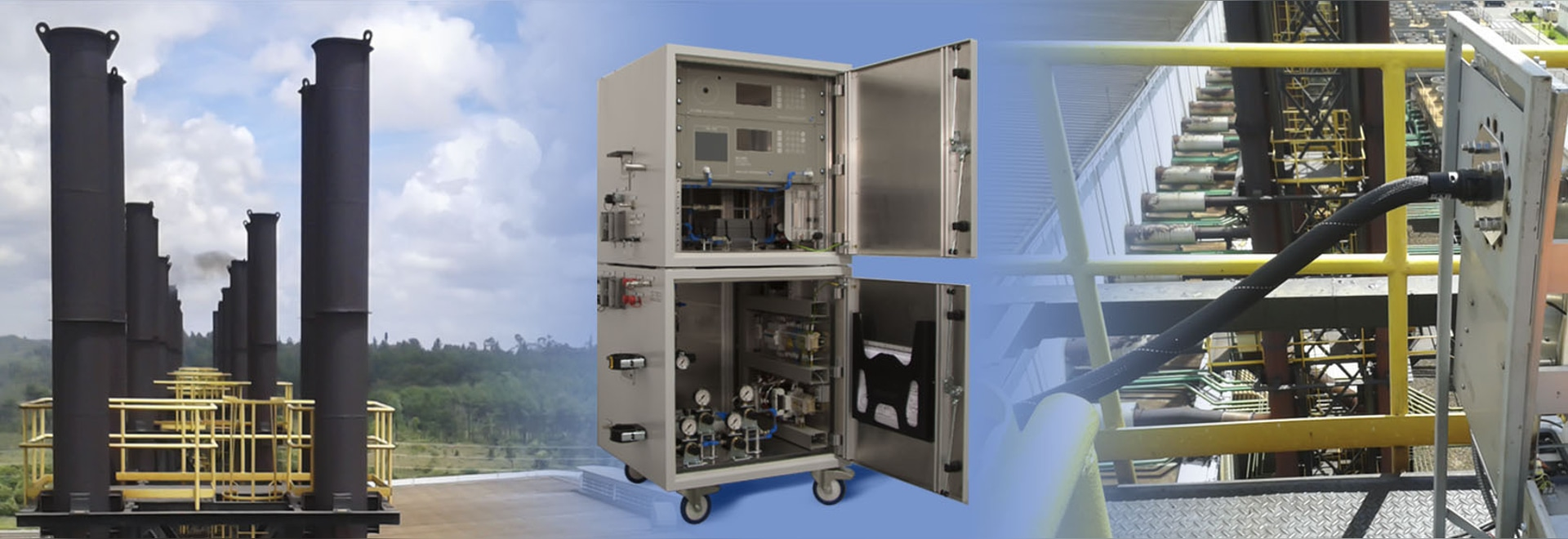 Móvil de Mercury Stack Gas Monitor SM-4
