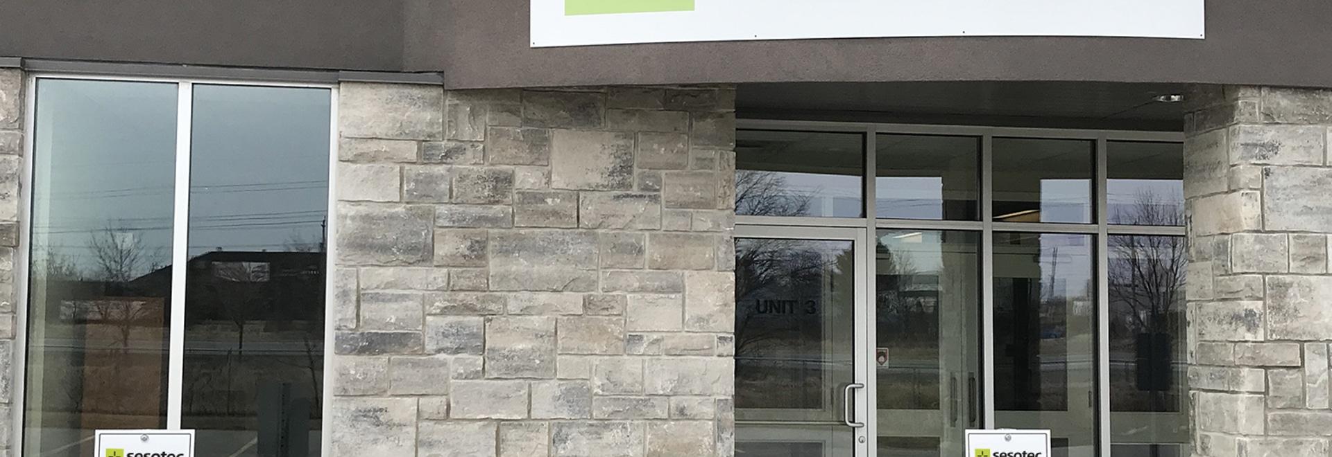 La nueva ubicación de Sesotec Canada en 275 Hanlon Creek Blvd Unit 3 en Guelph, Ontario, ofrece potencial para un mayor crecimiento