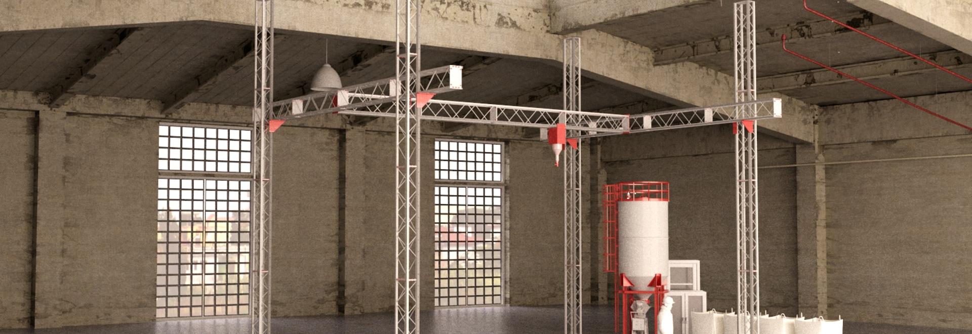 Nuevo 3D imprimió casas de la empresa de la construcción COBOD internacional