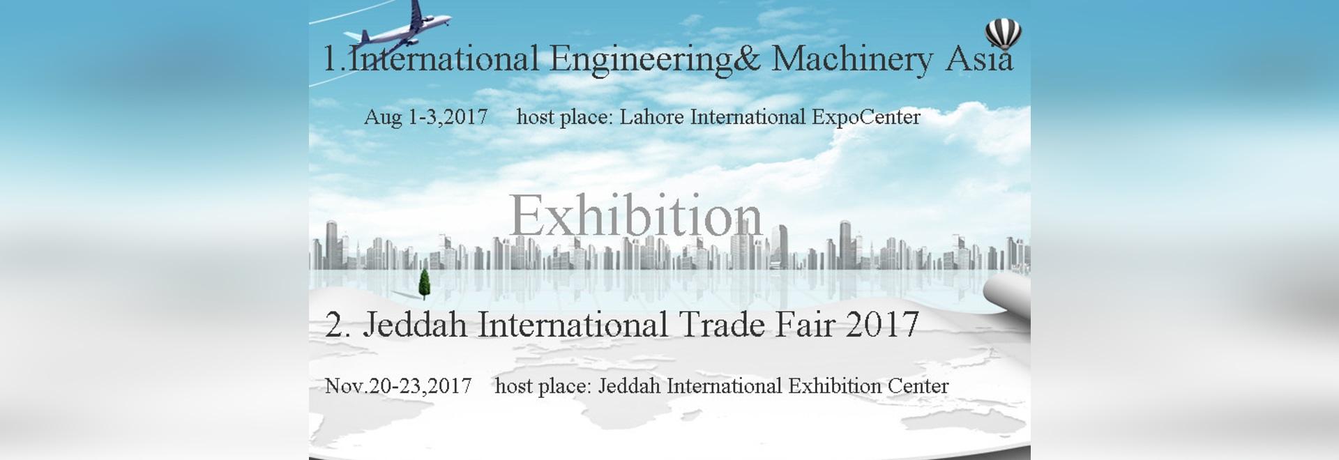 Organizaremos exposiciones en el Brasil, Paquistán, la Arabia Saudita