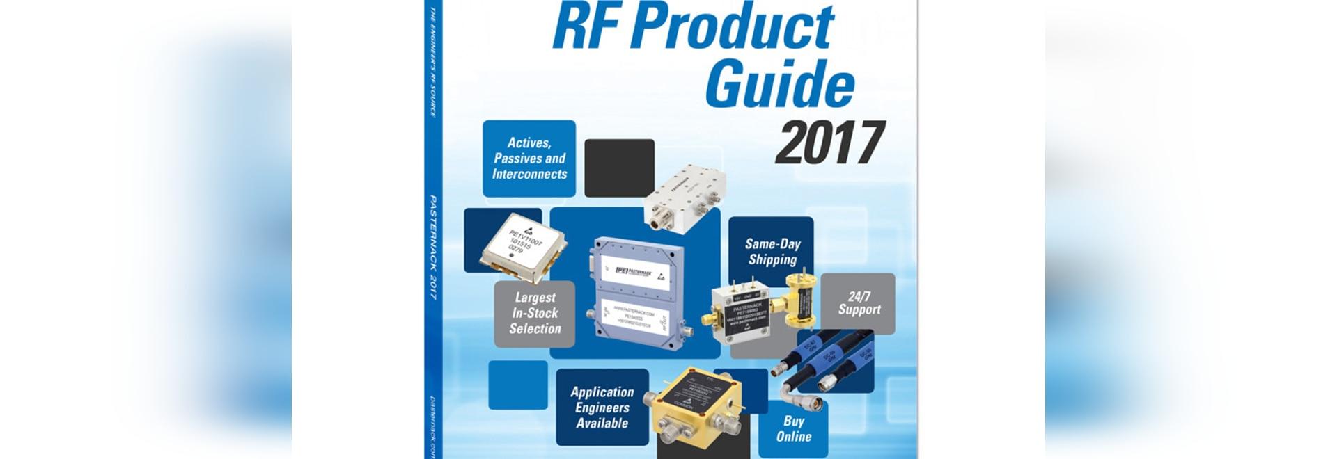 Pasternack RF, microonda y milímetro agita componentes e interconecta el catálogo 2017