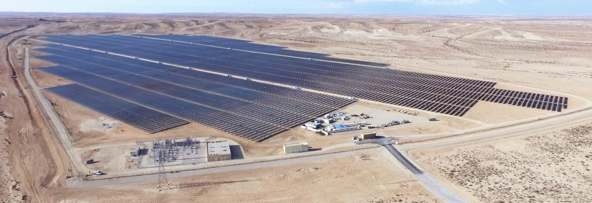 "Planta ""Ashalim ""de 30 MW picovoltio en Israel, construido por Belectric"