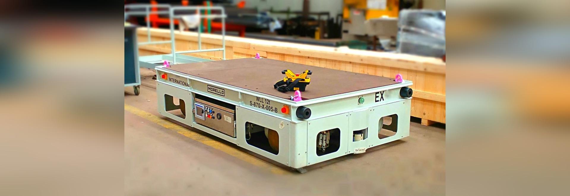 Plataforma multidireccional de la transferencia – capacidad 12 toneladas