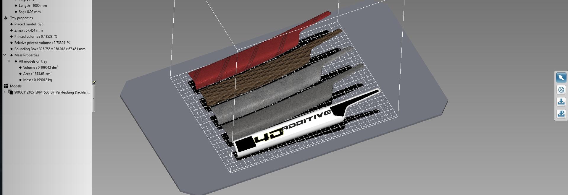 La preparación de los datos del cad para 3D la impresión con 4D_Additive, datos del cad de todos los formatos importantes 3D se puede procesar para la impresión 3D dentro del espacio más corto y co...