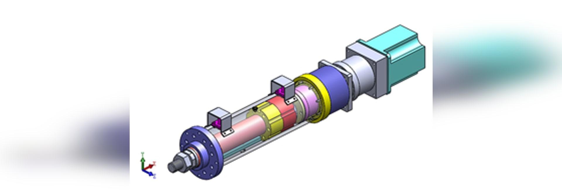 Principio del actuador lineal eléctrico y su funcionamiento
