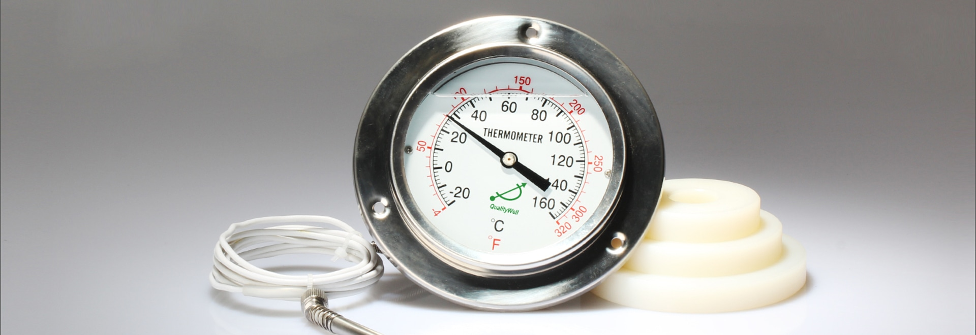 El principio y la estructura del termómetro de lectura a distancia