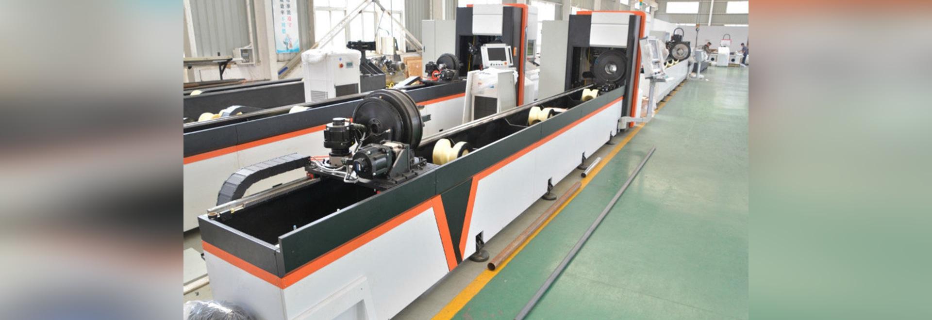 Producción en serie de máquina automática de corte por láser de fibra de láser Golden Vtop láser