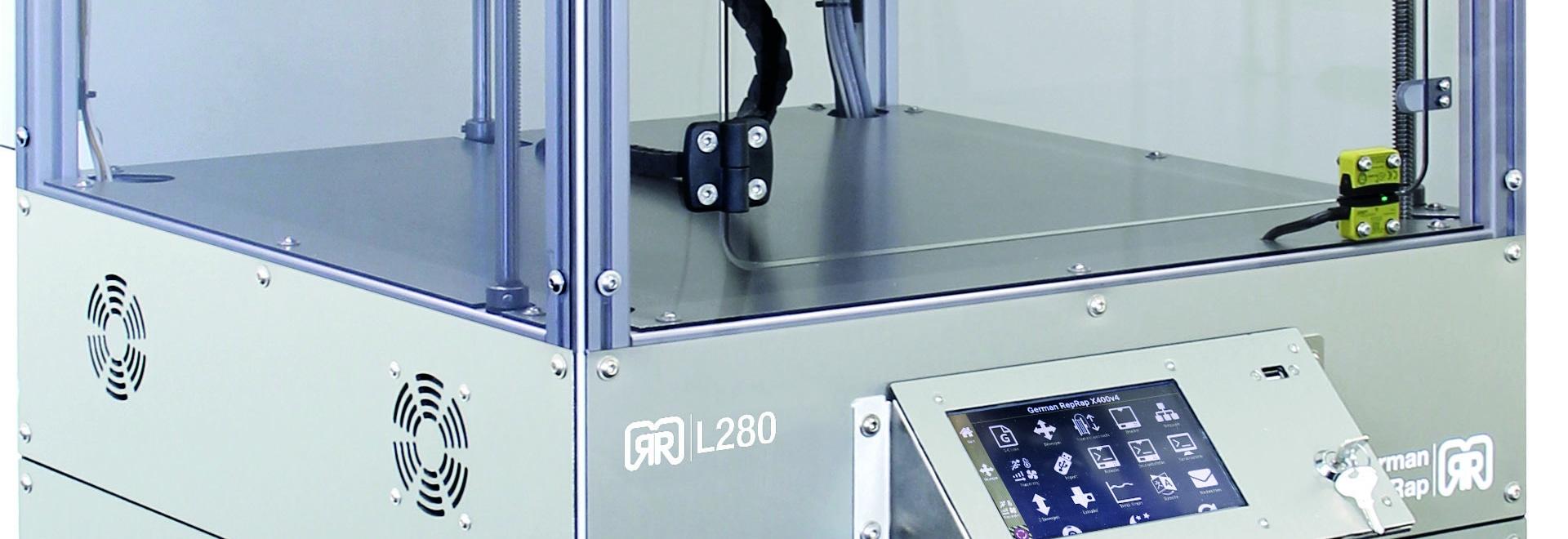 RepRap alemán para presentar la fabricación aditiva líquida y la impresora de L280 3D en Formnext