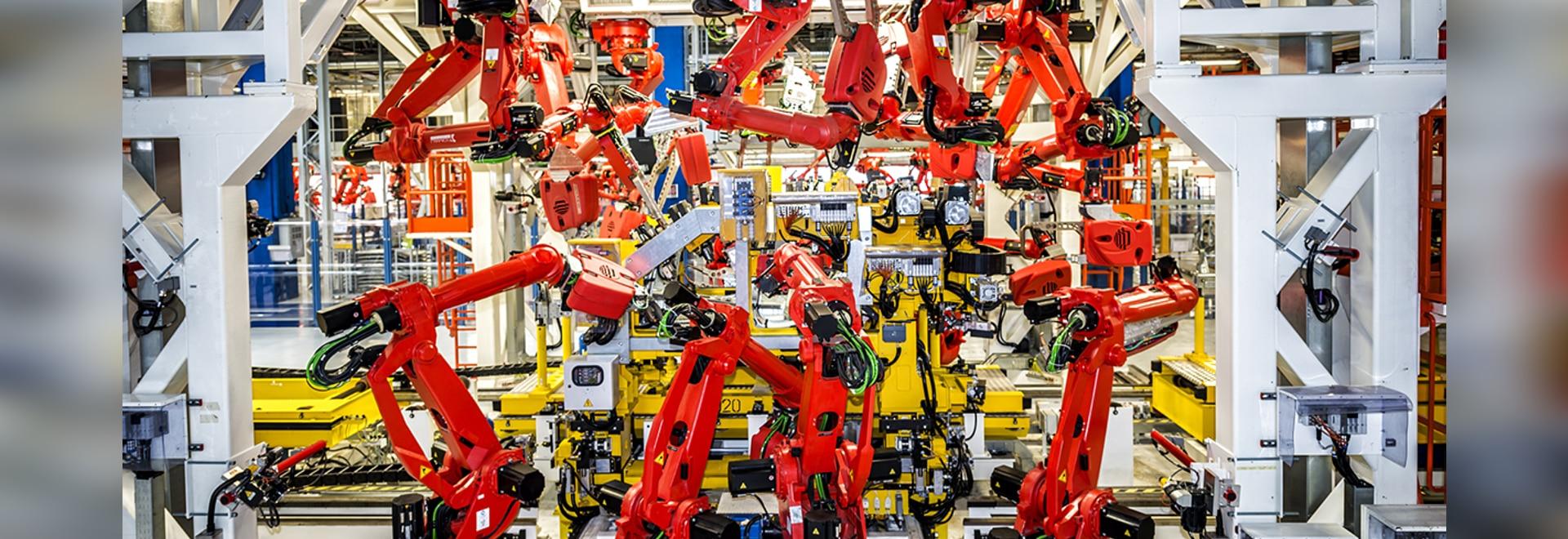 Robots en la subida