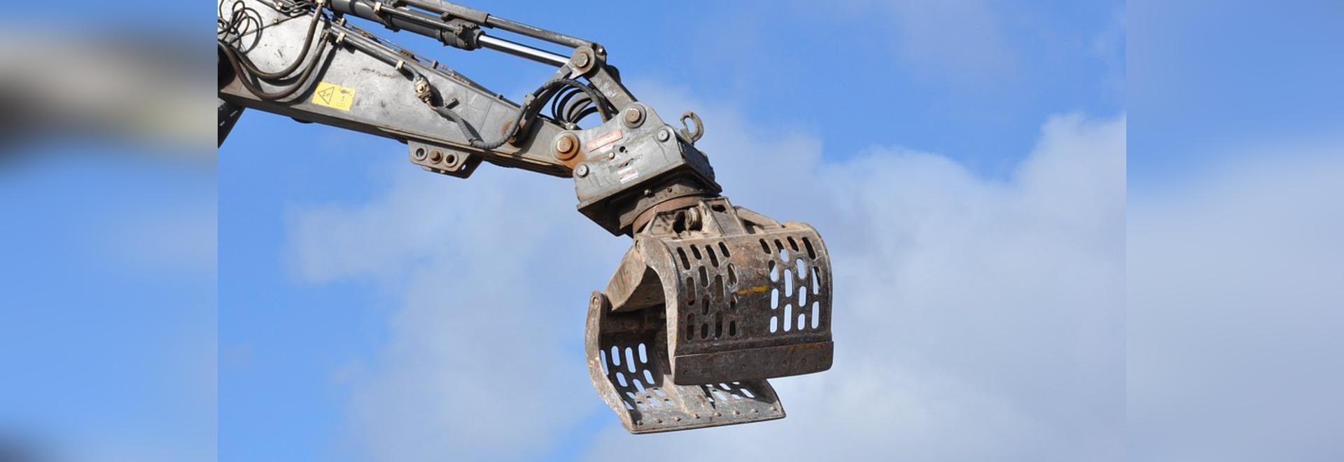 Se puede utilizar para el excavador la matanza llevando piezas de recambio