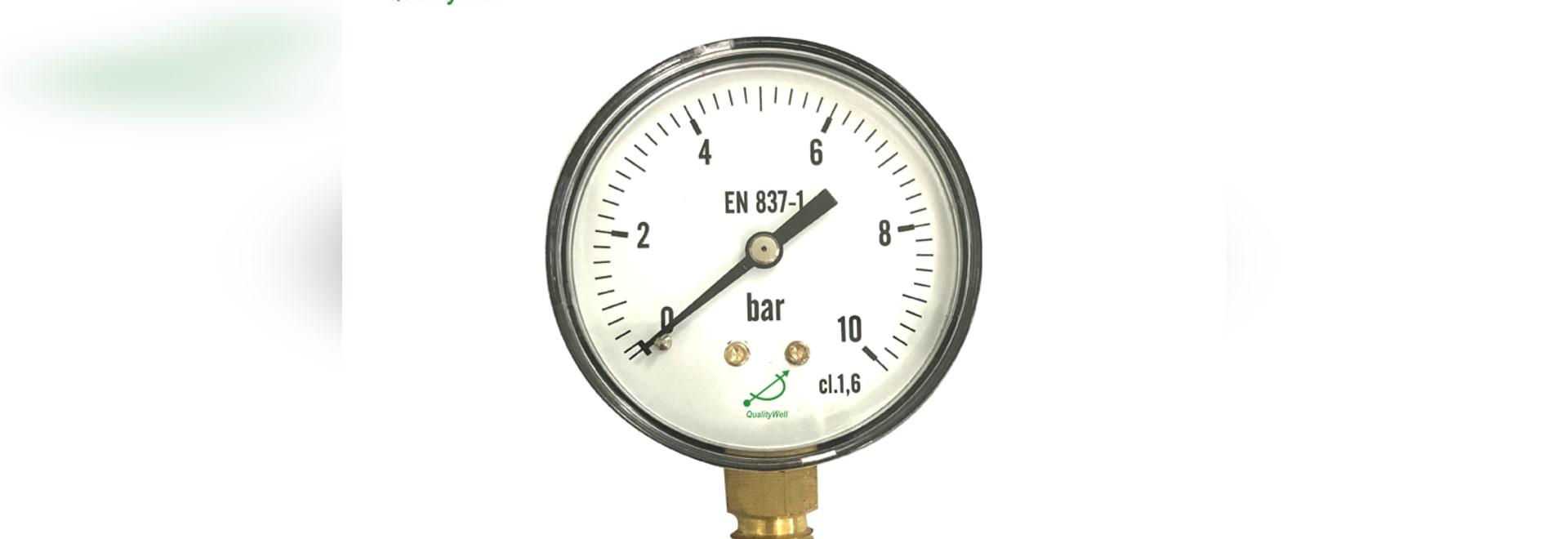 Selección del manómetro