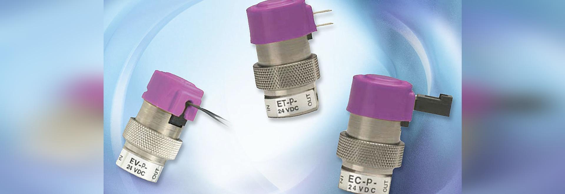 La serie EVP de válvulas de control proporcional Clippard