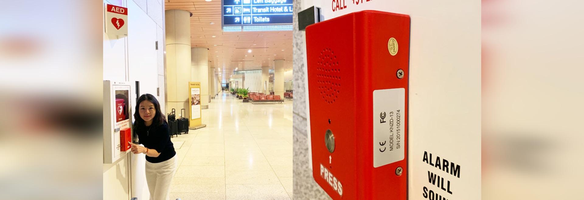 Sistema de Intercomunicación de Emergencia KNTECH para el Aeropuerto de Mumbai