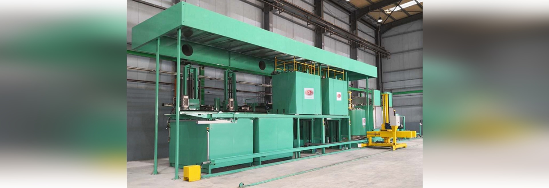 SOLO Swiss batch furnace Profitherm P300 shipped to Algeria