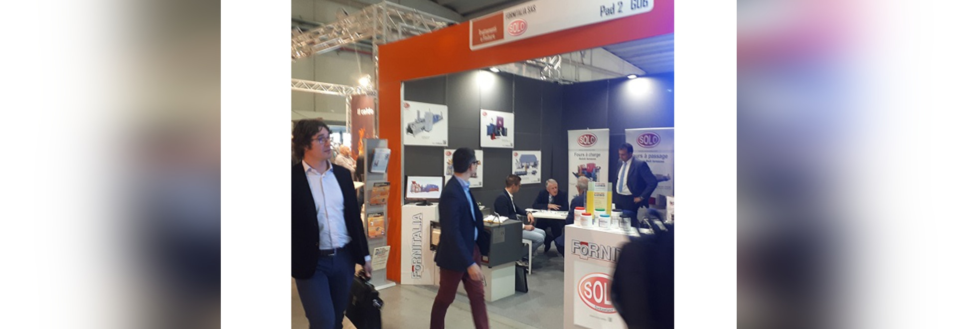 """SOLO Swiss participation at """"MECSPE 2019"""" exhibition, 28-30 March, PARMA, Italy."""