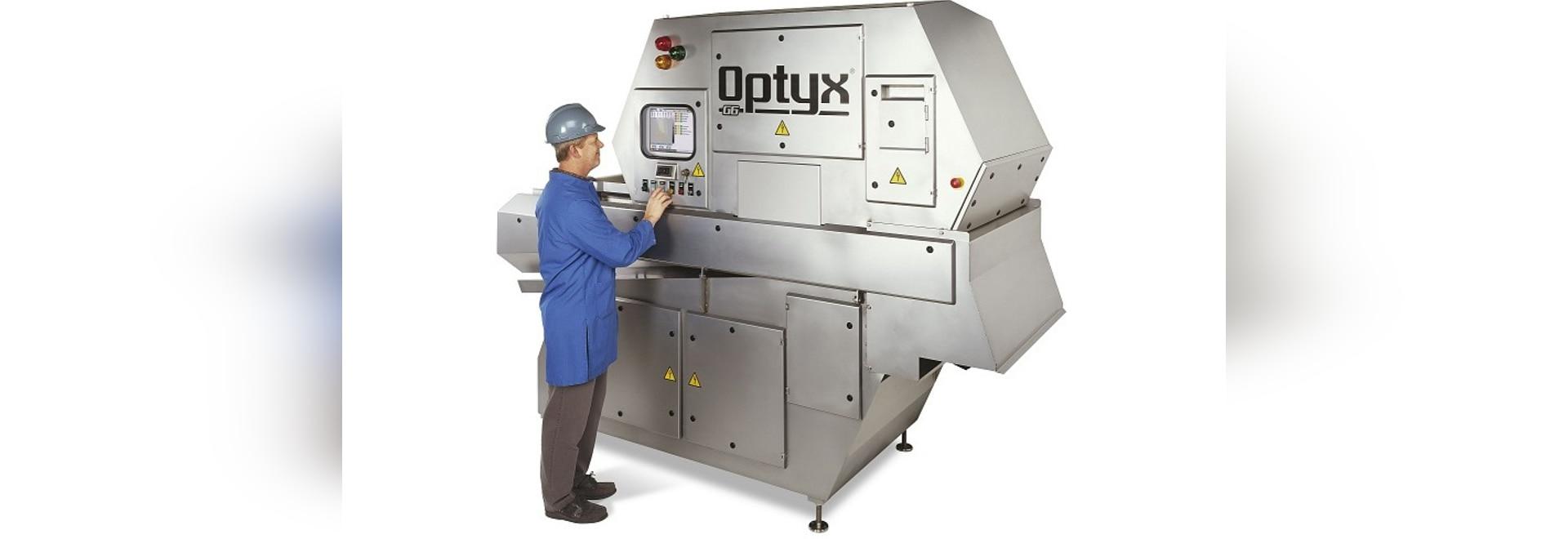 La tecnología láser del clasificador mejora calidad del producto embalada