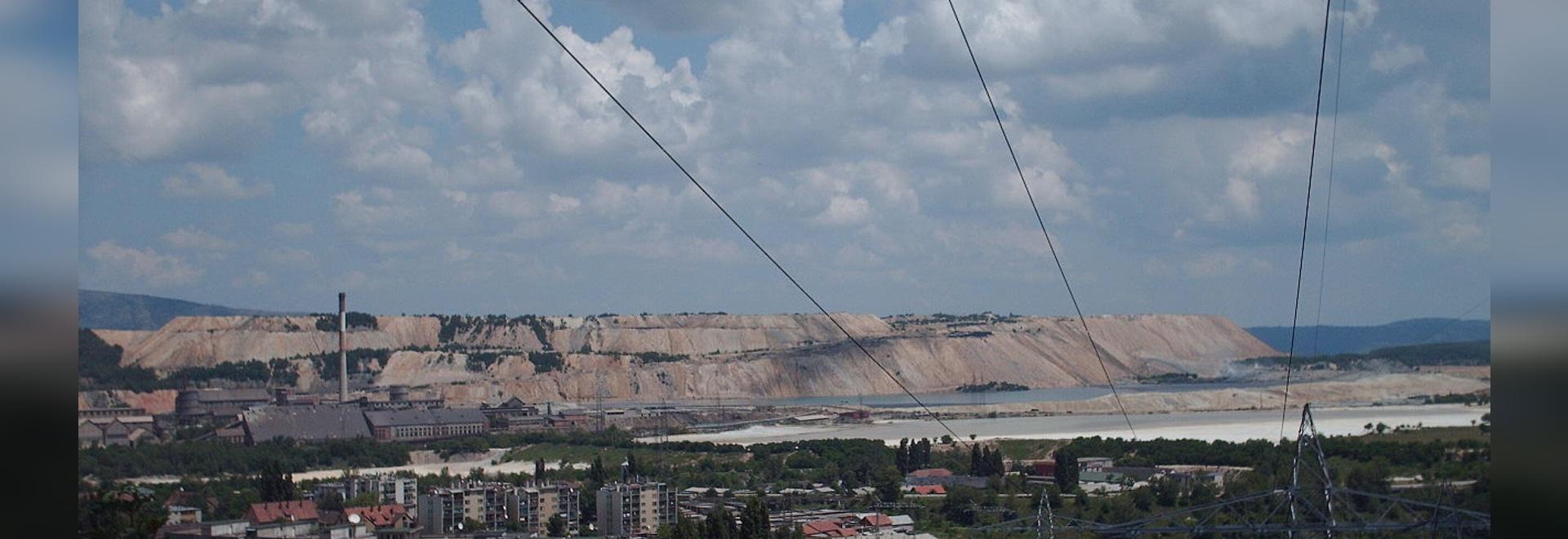 Los teléfonos del impermeable han estado instalados en una de las minas de cobre europeas más grandes - RTB Boriin en Serbia