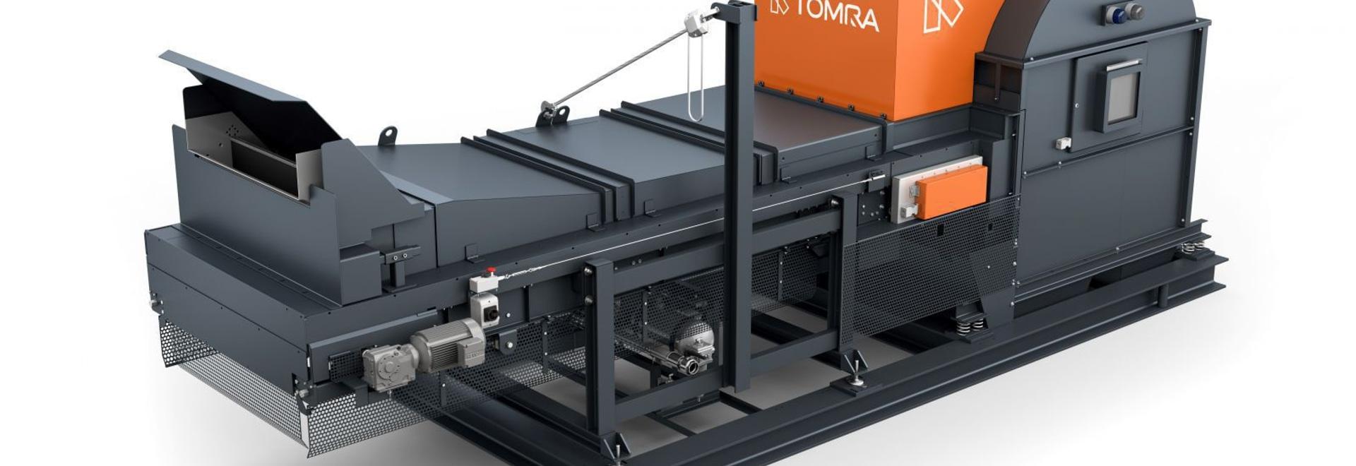 TOMRA aumenta X-TRACT con los canales de la Multi-densidad para mejorar la pureza de Recyclate