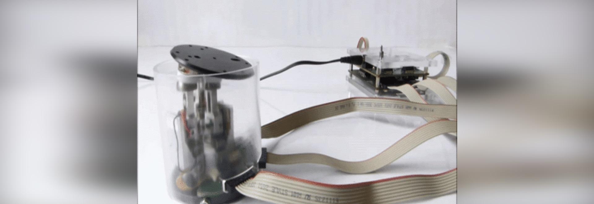 TrAC: Un actuador piezoeléctrico para el espacio exterior y los robots micro
