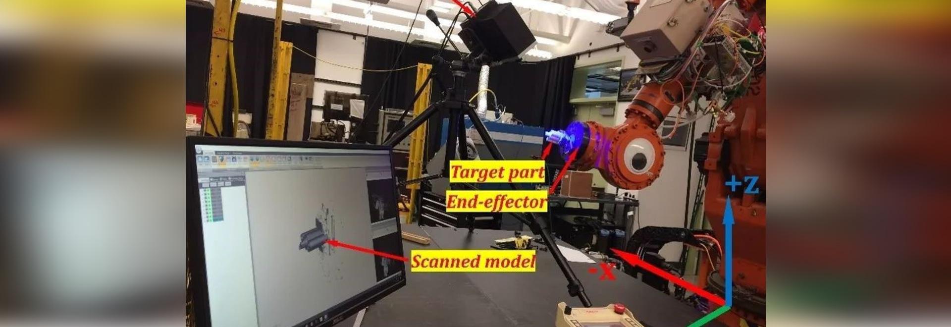 La universidad de ciencia y tecnología de Missouri utilizó OptimScan-5M en la reparación laser-ayudada de componentes metálicos