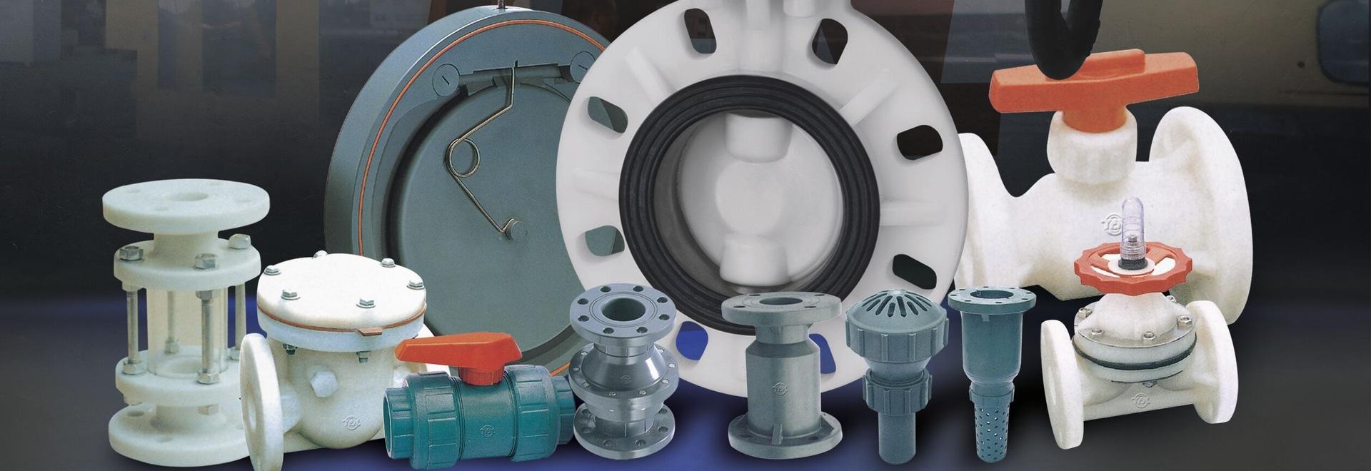 Válvula plástica del PVC RPP de PVDF