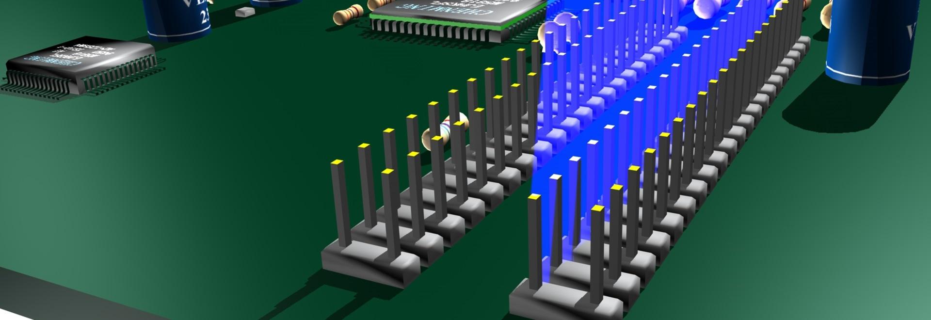 Verificación de Pin Alignment en la producción de electrónica