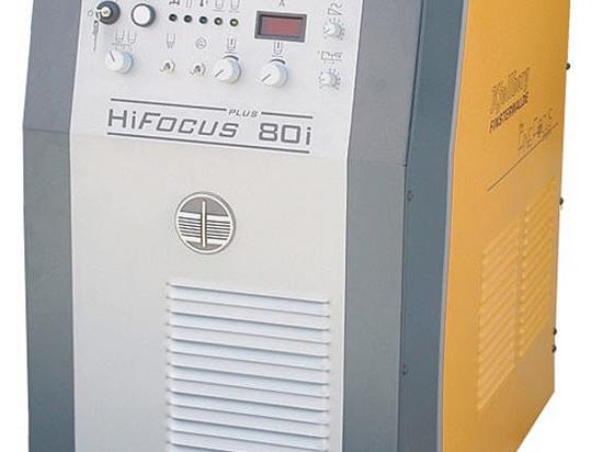 Tecnología de plasma mecanizada y con guiado CNC - HiFocus 80i