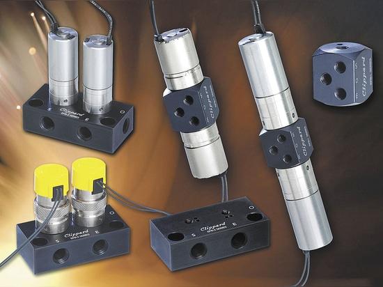 Serie EFB de circuitos electrónicos para llenado y purgado de Clippard