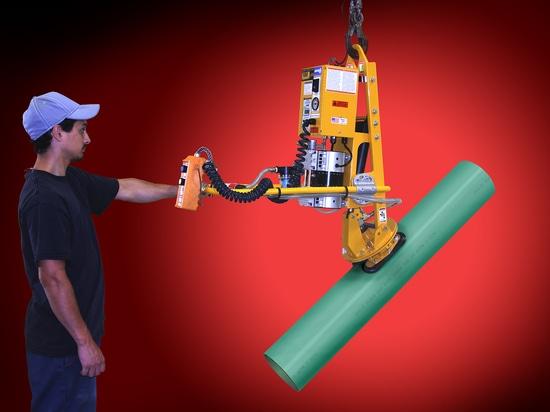 ANVER Corp anuncia el Levantador-volteador accionado nuevo vacío con la rotación manual para la tubería