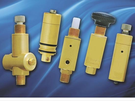 Clippard MAR-1 Serie Miniatura de Reguladores de Presión