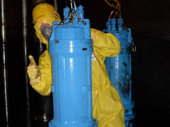 Bomba del vórtice de Egger en el colector de aceite