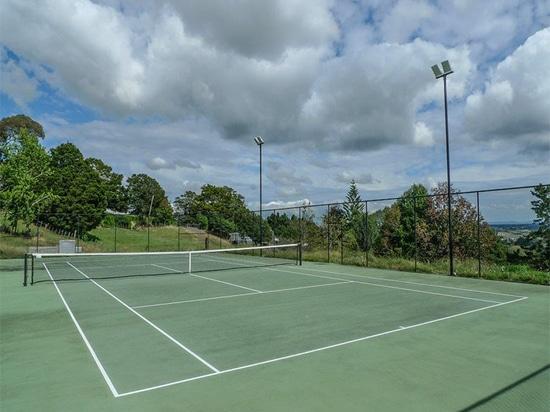 Alta luz del palo del LED en la pista de tenis, Australia