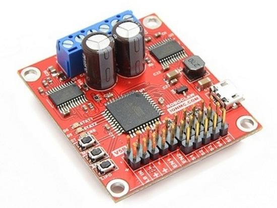 Característica rica, regulador compacto, incluido del motor de DC de ION Motion Control