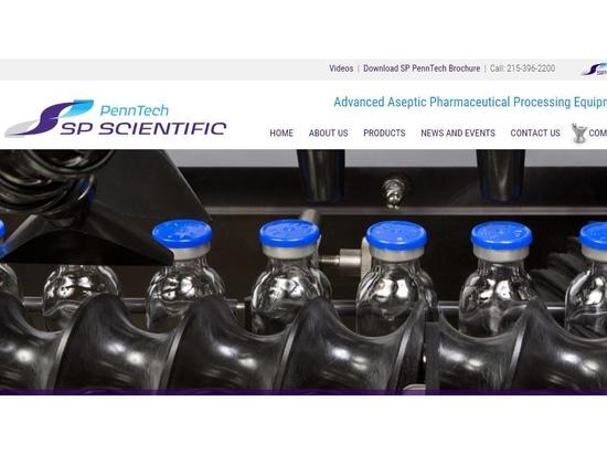 Página web de PennTech de los lanzamientos científicos del SP nueva