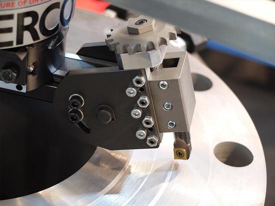 Máquina de revestimiento portátil del reborde con el aire-motor
