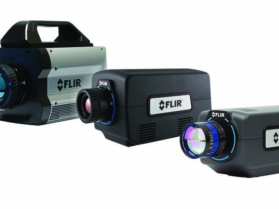 El FLIR introduce el cuarteto de las cámaras infrarrojas del Investigación-grado