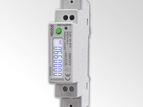 UEC32-2XC - Medidor de energía activa 32A, monofásico 2 hilos con MBUS integrado