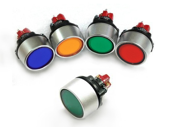 DECA D16 iluminó los interruptores de botón