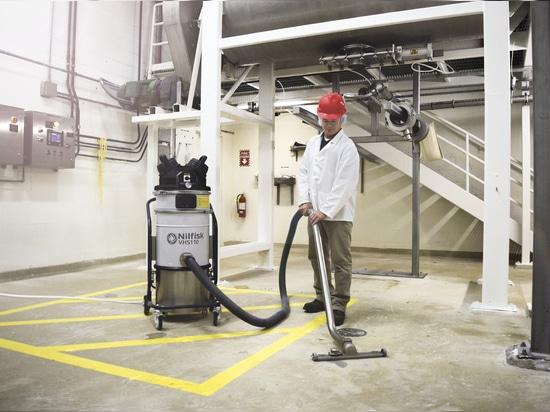 Limpieza del laboratorio en seguridad total