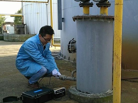 Analizador infrarrojo del biogás del PDA de Gasboard 3200plus